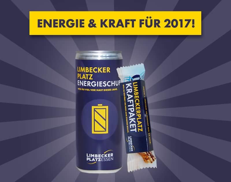 [Lokal Essen] Gratis Energydrink und Energieriegel