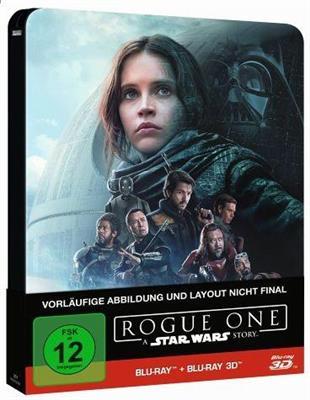 [Blu-ray]  Rogue One - A Star Wars Story (2D + 3D) Steelbook @ Thalia (Vorbestellung)