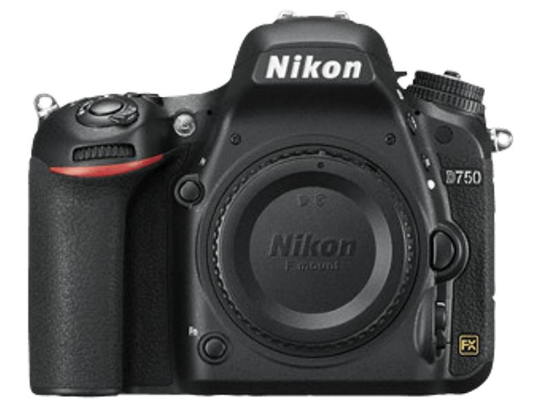 NIKON D750 Spiegelreflexkamera, mit Nikon Cashback (100€)