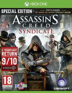 Assassin's Creed: Syndicate – Special Edition (Xbox One Nordic Version)​ für 12,50€ inkl. VSK (Coolshop)