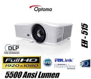 [ebay / Videoprojektor24] OPTOMA EH 515 3D FULL HD BEAMER PROJEKTOR 5500 AL LENS SHIFT