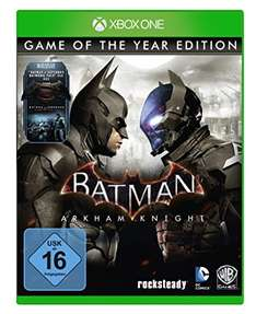 (Amazon.de) Batman: Arkham Knight - Game of the Year Edition (Xbox One & PS4) für 29,81€ inkl. VSK