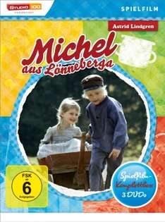 [AMAZON] Michel aus Lönneberga (Spielfilm Komplettbox) [DVD]