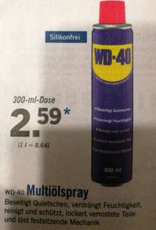 [LIDL] WD-40 300ml Dose Multiölspray