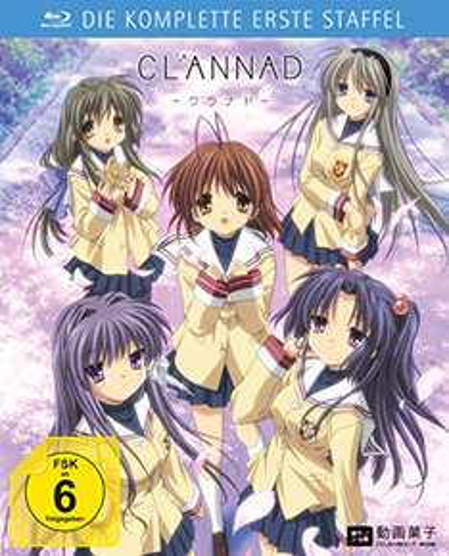 Anime Serie Clannad Die komplette 1. Staffel Blu-Ray