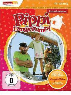 Pippi Langstrumpf & Michel aus Lönneberga - TV-Serie Komplettbox für jeweils 12,97€ [Amazon Prime]