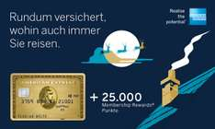 Amex Gold 1 Jahr gratis und 25000 MR (125 Euro Amazon) bei Mindestumsatz