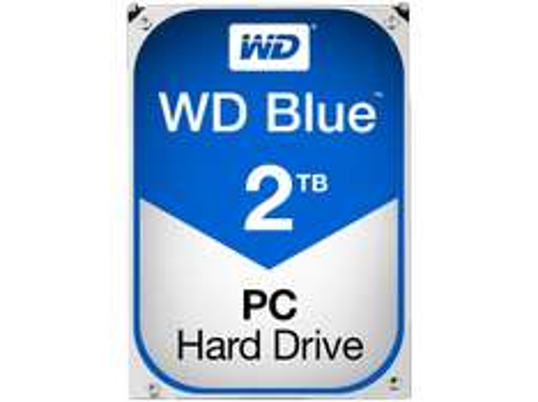 "WD Blue 2TB interne 3,5"" SATA Festplatte (WD20EZRZ) @Saturn"