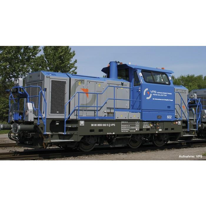 """Leider auch ausverkauft, nur vorbestellbar... Modellbahn Piko Diesellok Vossloh G6 """"VPS"""" Best-Nr. 52652 H0 DC"""