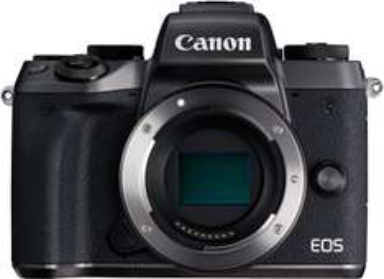 Canon EOS M5 Systemkamera Body (24.2 Megapixel, APS-C CMOS-Sensor, WiFi, NFC, Full-HD) + gratis EF-EOS M Adapter
