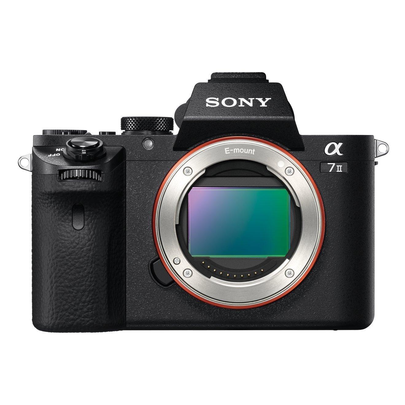 Warum DSLR, wenn DSLMs die Zukunft sind? Sony Alpha 7 II Gehäuse -  Systemkamera mit bildstabilisiertem Vollformat-Sensor [Amazon.de]
