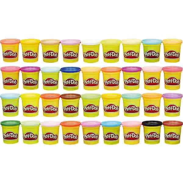 Hasbro Play-Doh Knet-Dosen 36er-Megapack