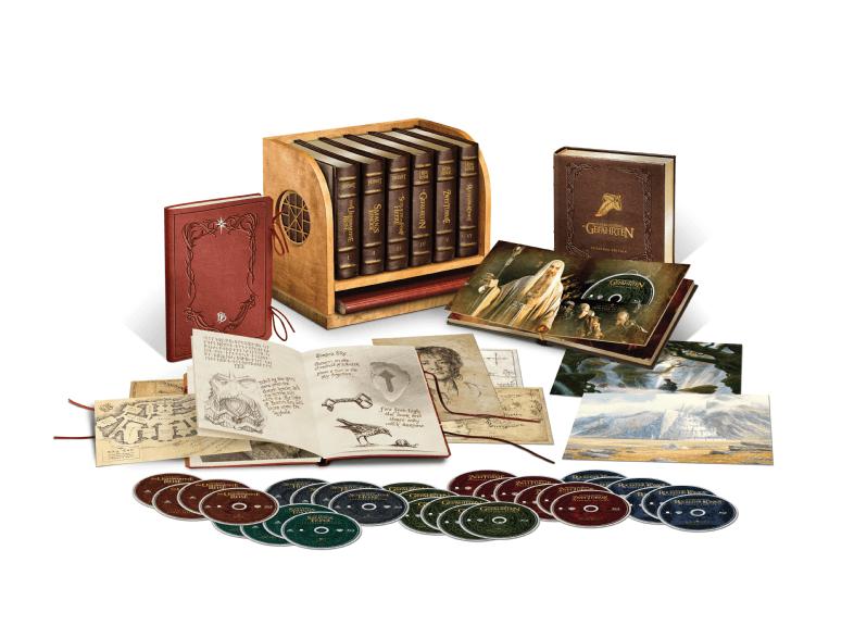 Mittelerde Ultimate Collector's Edition (Hobbit/Herr der Ringe) (Blu-ray), 30 BD