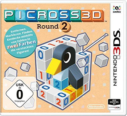 [3DS] Picross 3D Round 2 bei Amazon und mehr (Super Mario Maker, Rhythm Paradise)