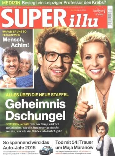 SUPERillu Magazin - 14 Ausgaben für 2,80€ durch 20€ Geldprämie