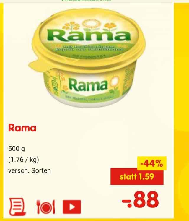 netto offline: Rama 44% Billiger