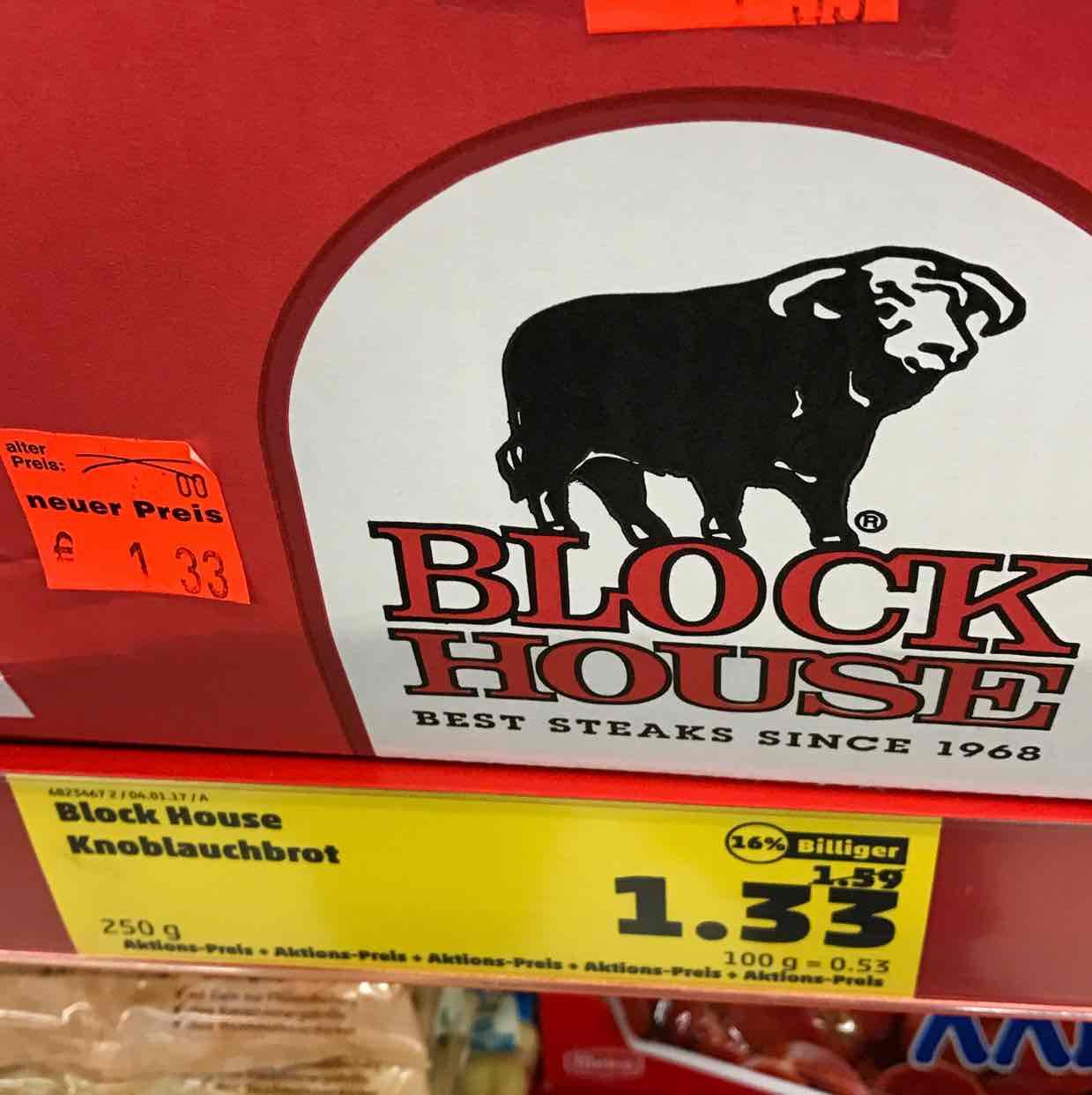 Lokal Penny HH Elbgaustrasse Blockhouse Brot nur 1,33 und Sourcreme nur 77 Cent