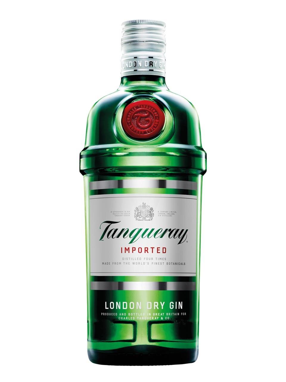 [Heinemann Duty Free] Tanqueray Gin 47.3% 1L nur 13,90€ VSK-frei (Flugticket erforderlich)