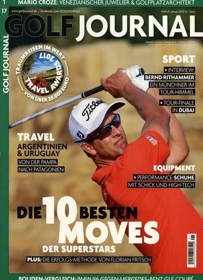 4 Ausgaben Golf Journal mit effektiv 1,10€ Gewinn durch 20€ Amazon-Gutschein bei 18,90€ Kosten