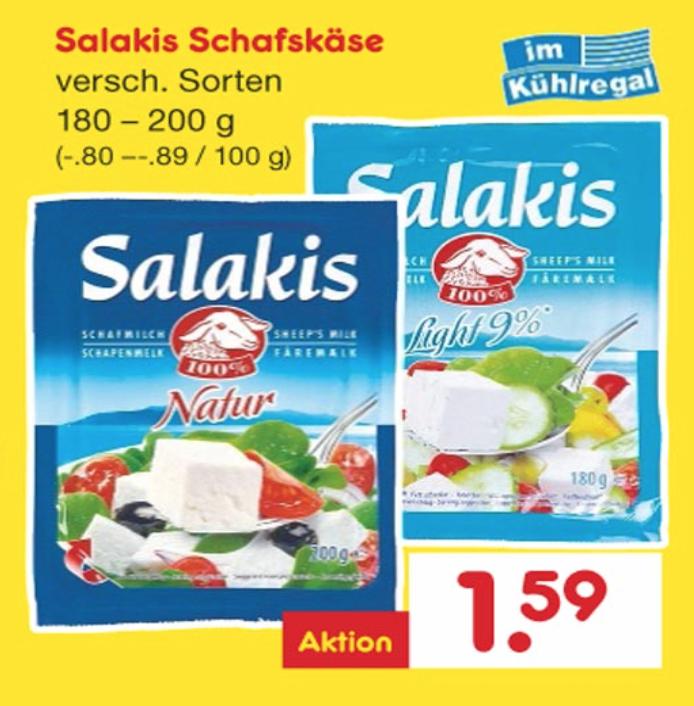 [Netto ab 05.01] Salakis zum Sensationspreis