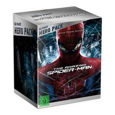The Amazing Spider-Man Blu-ray Steelbook (Ultimate Hero Pack + Figur @Amazon für 37,70 € (VSK FREI)