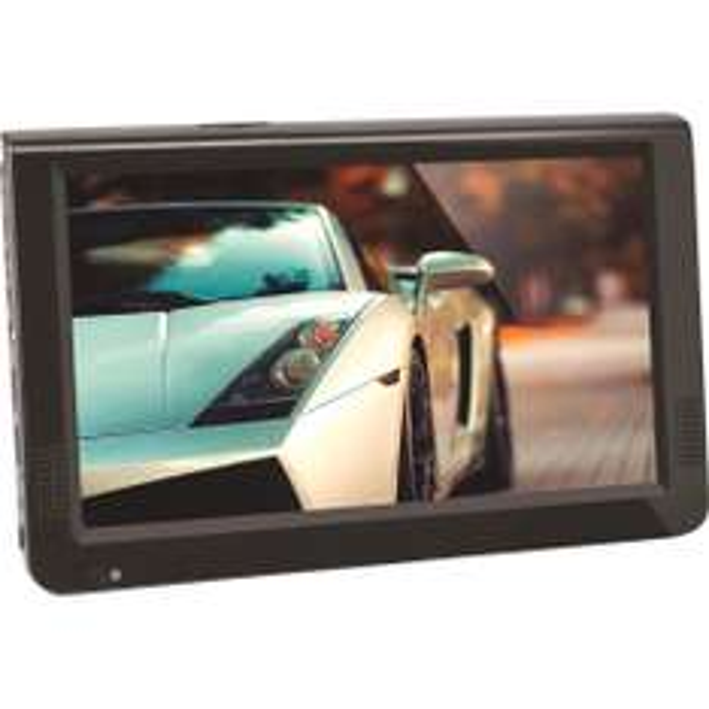 [Conrad] Tragbarer TV 25.7 cm 10.1 Zoll Reflexion LED1015T2HD inkl. 12 V Kfz-Anschlusskabel, inkl. DVB-T Antenne und DVB-T2 Tuner, Camping TV Schwarz