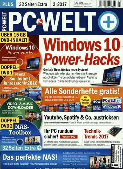 4 Ausgaben PC WELT plus inkl. jeweils 3 DVDs  für effektiv 2,95€ durch 20€ Amazon-Gutschein