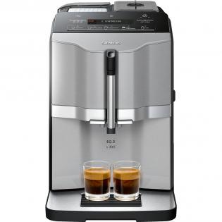 [Redcoon] Siemens TI303503DE EQ.3 s300 Kaffeevollautomat Titanium 1.300 Watt 15 bar Bohnenbehälter max. 250 g max. 1,4ltr Cappuccinofunktion: One-Touch-Cappuccino
