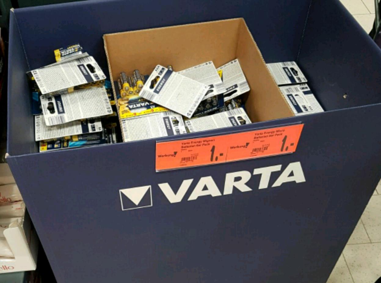 Varta Batterien 6er Pack Frankfurt