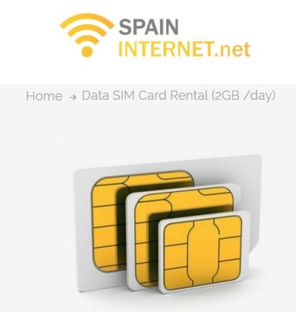 Spanien Urlauber: Daten-SIM ab 2,07€ pro Gigabyte mit 4G/LTE