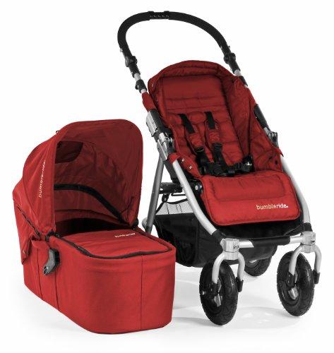 Bumbleride I4-100CR Kinderwagen Indie 4, cayenne rot