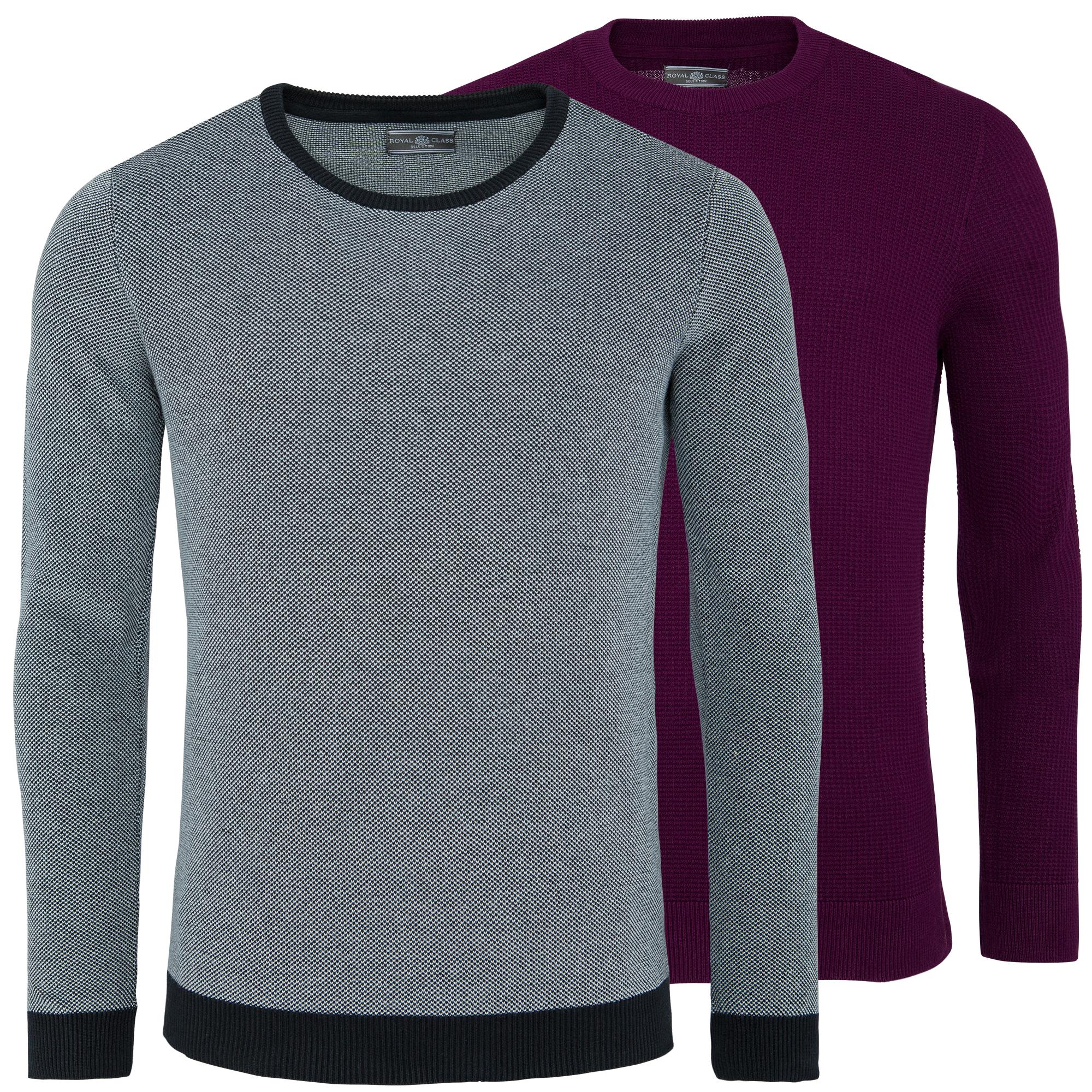 (eBay) 2er Pack Royal Class Pullover (100% Baumwolle) für 13,99€