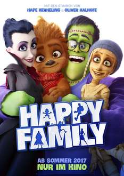 Kostenlos ins Kino - Happy Family - Für Kinder mit Begleitperson (Eltern / Großeltern, etc.) in Hamburg