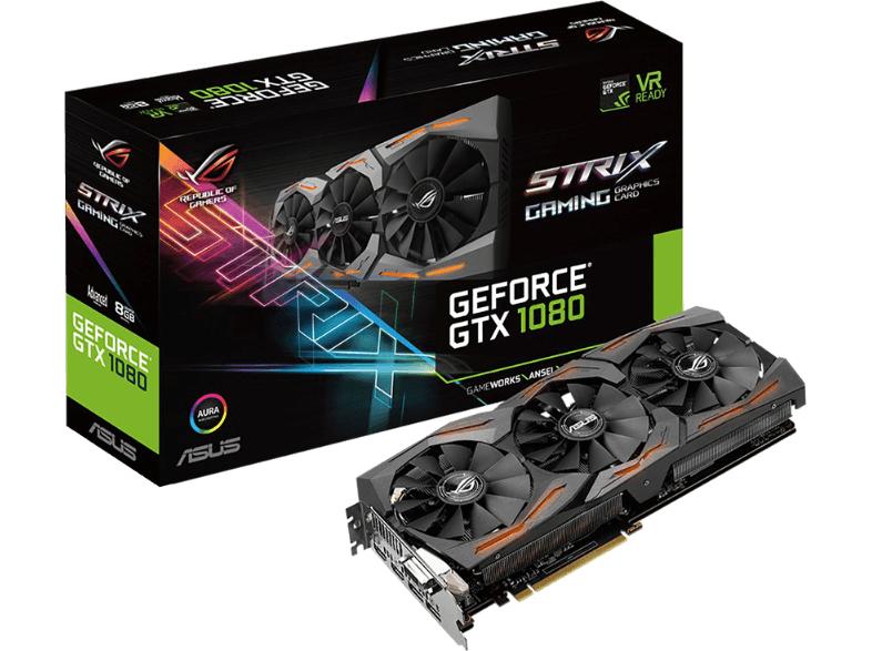 ASUS ROG Strix GeForce GTX 1080 Advanced für 658,50€ - 40€ Cashback = 618,50€ [Mediamarkt.at]