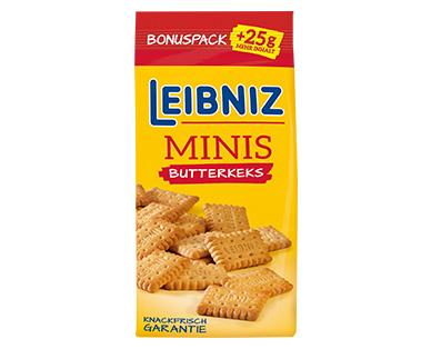 [Aldi Süd] Leibniz Mini Butterkeks & Schokokeks mit 25% mehr Inhalt