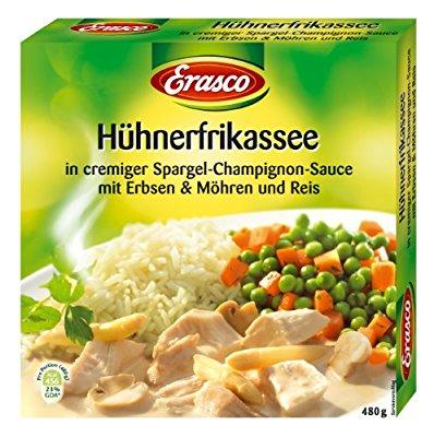 Erasco / Hühnerfrikassee, 7er Pack (7 x 480 g), Preis:EUR 8,86 Vorbesteller-Preisgarantie @AmazonPrime