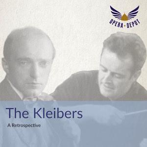"""[Opera Depot] """"The Kleibers"""" Retrospektive von Erich und Carlos Kleiber als Gratis-Download"""