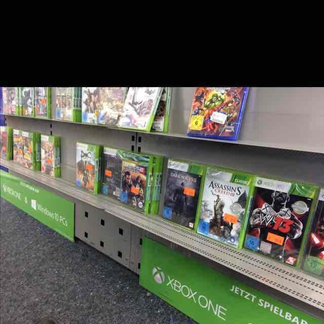 Lokal Saturn Augsburg City Galerie Xbox 360 spiele für je 9,99€