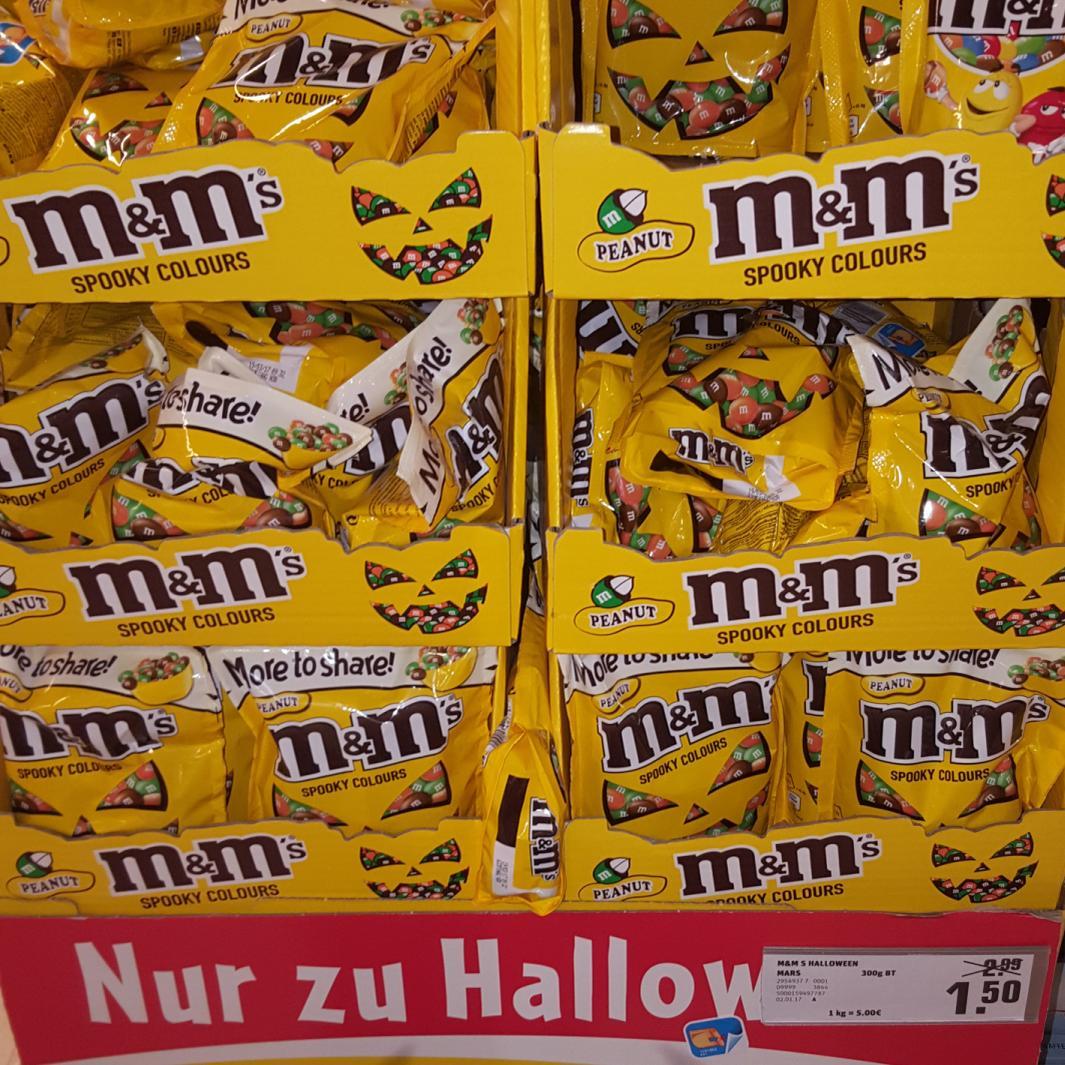 M&M's 300g Halloween Edition für nur 1,50€ [Rewe Center Darmstadt]