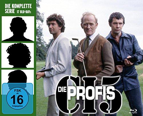 Die Profis (ja, Bodie & Doyle) auf Blu-Ray komplett und ungeschnitten für 69,97 Euro PVG 83,71 Euro