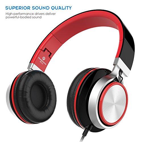 Sound Intone MS200, faltbarer On-Ear Hi-Fi Kopfhörer für 8,89€