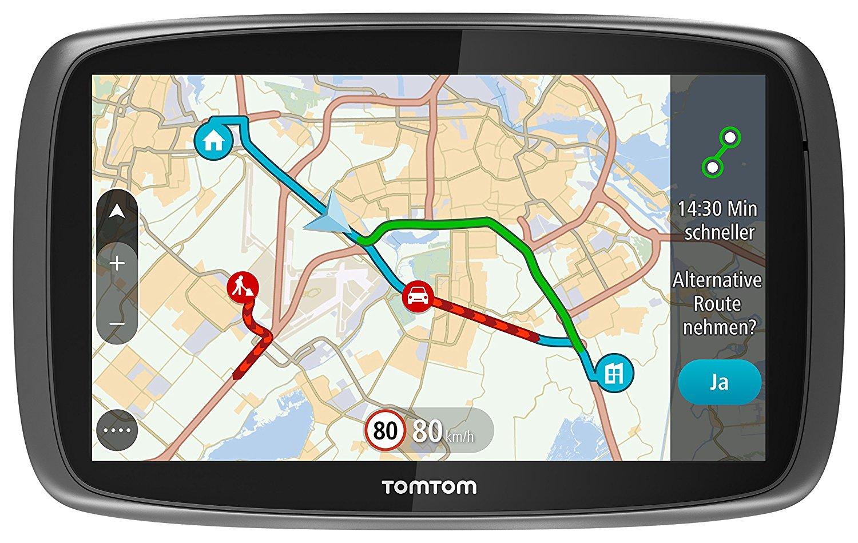 [Amazon] TomTom GO 61 World Traffic Navigationssystem (6 Zoll) Lifetime TomTom Traffic & Maps für 119,40€