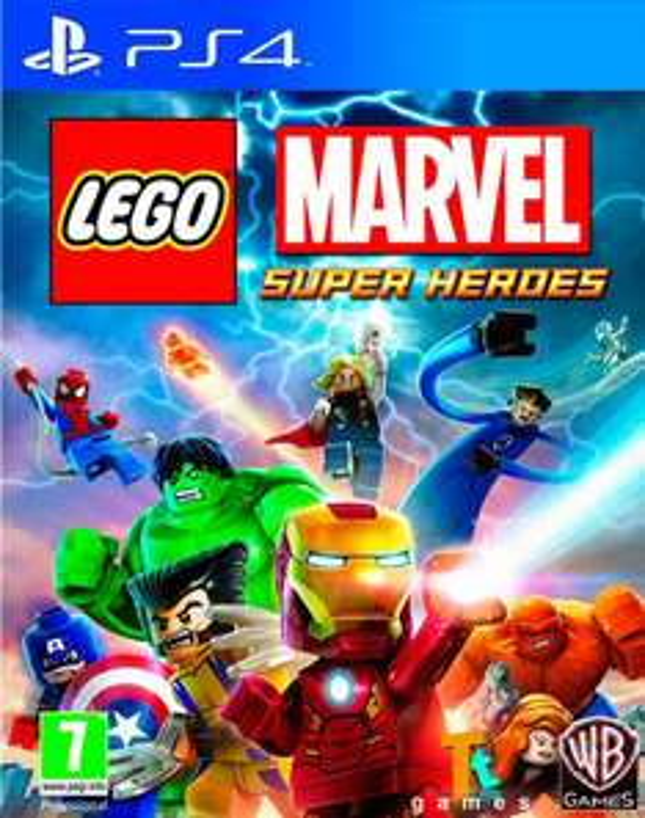 LEGO Marvel Super Heroes für PS4