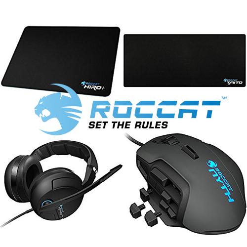 Verschiedene ROCCAT Produkte mit 20% Dreamhack Rabatt [AMAZON - ab 19,99€]
