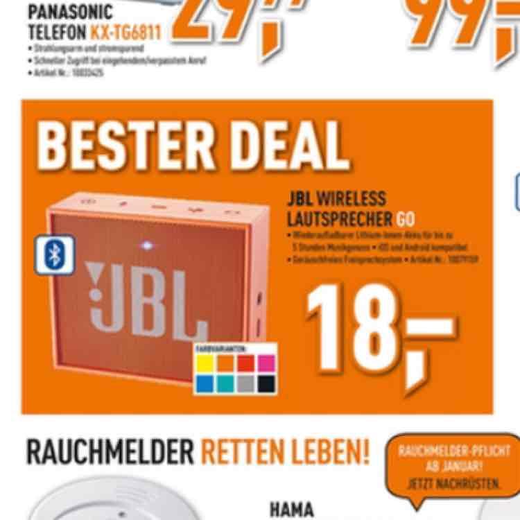 JBL Go Wireless Lautsprecher (Lokal Hamm)