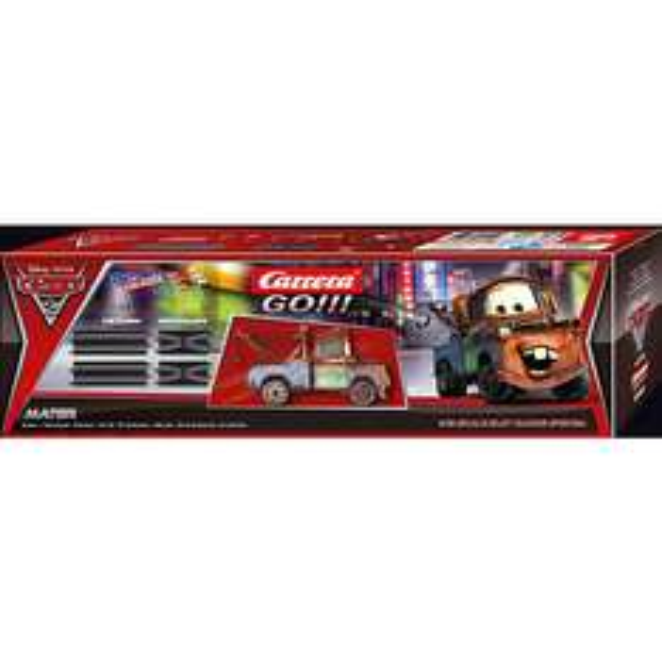 CARRERA GO!!! 61652 Disney/Pixar Cars 2 Ausbauset + 1 Fahrzeug Hook für 17,94 € inkl. Versand