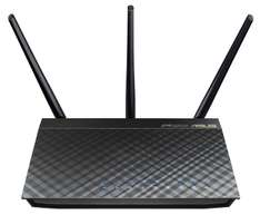 Asus RT-AC66U AC1750 Black Diamond Dual-Band Power WLAN Router + 15€ Cashback möglich [Amazon]