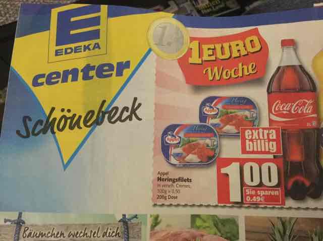 LOKAL Schönebeck (Elbe) Appel Heringsfilets bei Edeka