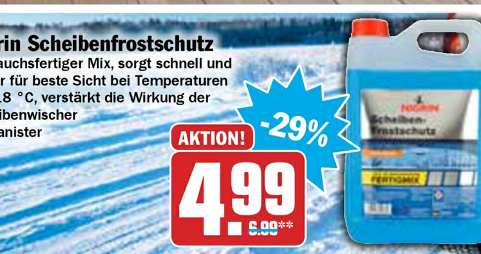 Nigrin Scheibenfrostschutz 5l Fertig Mix lokal bei HIT