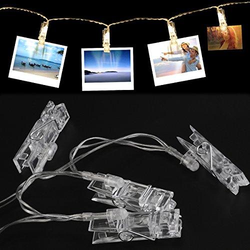 LED Lichterkette zum dekorativen aufängen von 40 Fotos für 11.99€ Amazon Prime
